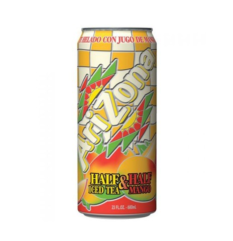 Trà Xoài Arizona Half Iced Tea & Half Mango 680ml