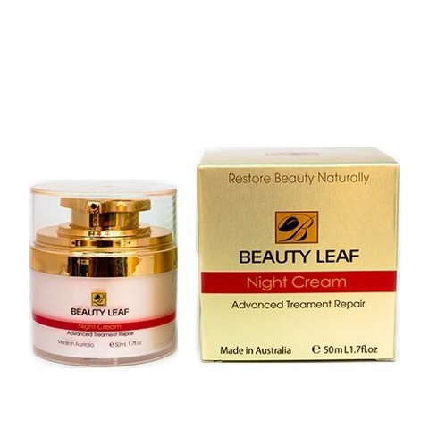 kem duong dem Beauty Leaf Night Cream