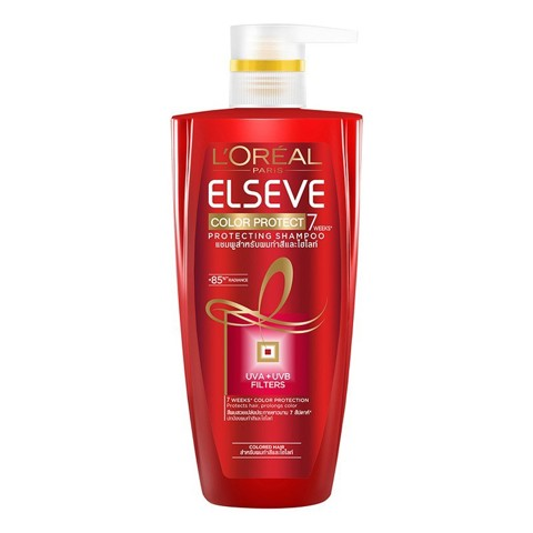 dau goi giu mau cho toc nhuom l oreal elseve color protect shampoo 450ml