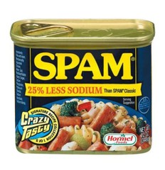 Thịt Hộp Hormel Spam Less Sodium 340g