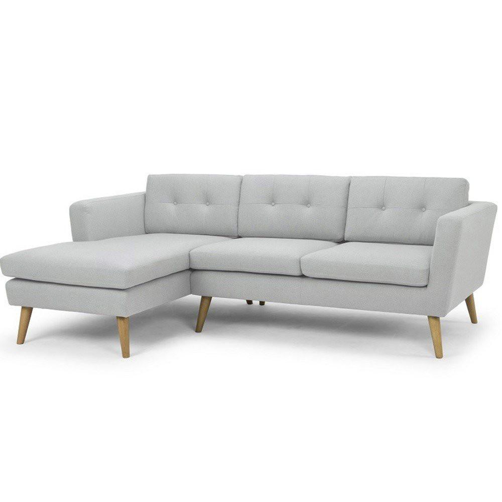 Ghế sofa phòng khách - 3 chỗ - màu ghi- Bizsofa