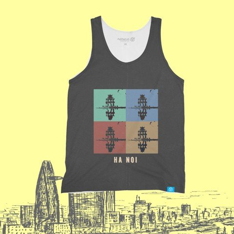 Wonderful Hanoi - Tank Top