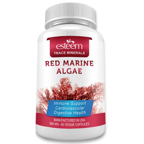 vien uong tao do esteem red marine algae 60 vien