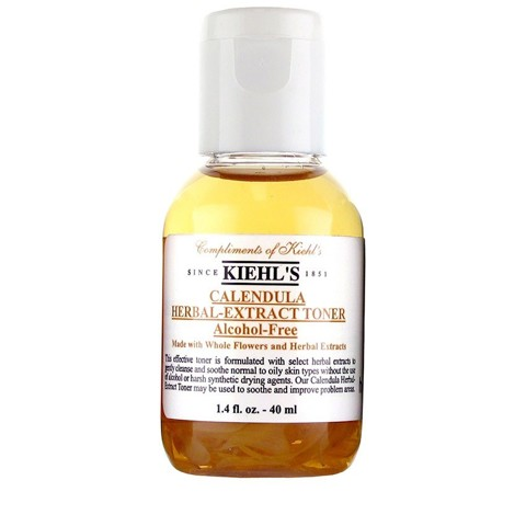 Nước cân bằng Kiehl's Calendula Herbal-Extract Toner Alcohol-Free 40ml