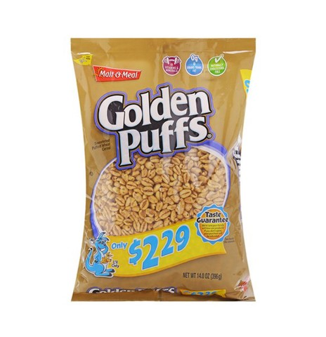 Ngũ Cốc Golden Puffs Malt-O-Meal 396g
