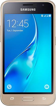 samsung galaxy j1 (2016) j120 8gb gold dual sim