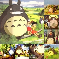Bộ Poster My Neighbor Totoro