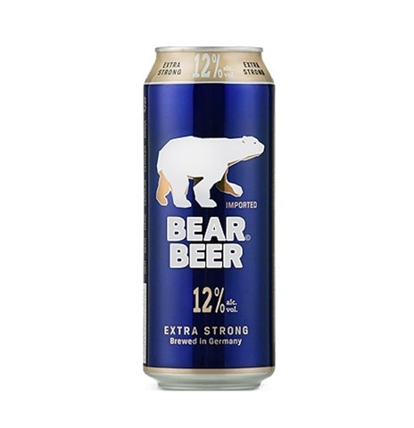 Bia Đức Bear Beer 12% Extra 500ml