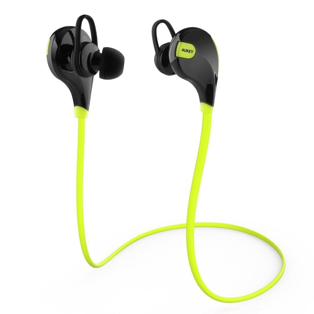 Tai nghe Bluetooth Aukey EP-B4, dây đeo thể thao, với Bluetooth 4.1, chuẩn aptX, mic cho iPhone, Samsung, Android smartphones