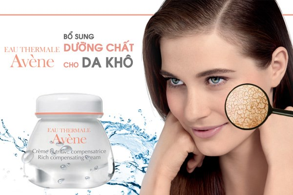 kem bo sung duong chat cho da kho avene rich compensating cream 50ml
