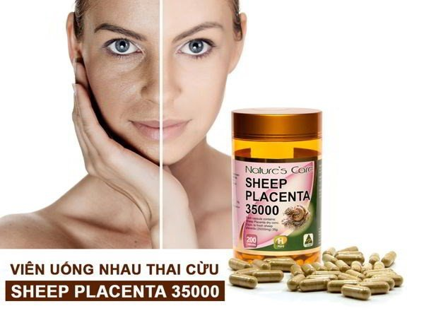 natures care sheep placenta 35 000mg