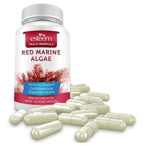 vien uong tao do esteem red marine algae 60 vien 02